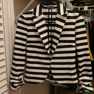Amanda & Chelsea Striped Blazer